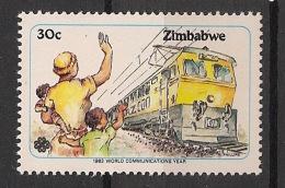 Zimbabwe - 1983 - N°Yv. 59 - Trains - Neuf Luxe ** / MNH / Postfrisch - Zimbabwe (1980-...)