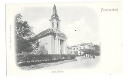 (19805-00) Tchéquie - Franzensbad - Kath Kirche - Tschechische Republik