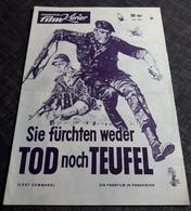 """Altes IFK-Filmprogramm - ANTHONY QUINN & ALAIN DELON & CLAUDIA CARDINALE In """"Sie Fürchten Weder Tod Noch Teufel"""" -181068 - Magazines"""