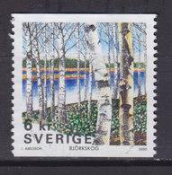 Sweden 2000 Mi. 2175    6 Kr Der Wald Birkenwald - Suède