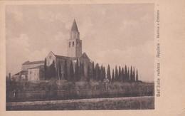 CARTOLINA - POSTCARD - UDINE - DALL' ITALIA REDENTA - AQUILEIA - BASILICA E CIMITERO - Udine