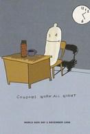 "World Aids Day / Levi Strauss & Co. ""Condoms Work All Night""  1998 - Salud"