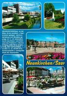 73214452 Neunkirchen_Saar Park Fontaene Saarpark Center Denkmal Strassencafes Ne - Ohne Zuordnung