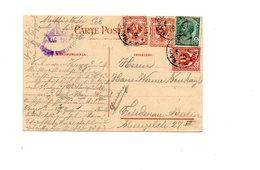 MK568 - REGNO 1919 , Cartolina VESUVIO Per La Germania - 1900-44 Vittorio Emanuele III