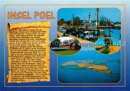 73217214 Insel_Poel Hafen Leuchtturm Landschaftspanorama Fliegeraufnahme Chronik - Alemania