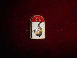 INSIGNE 51 CIE BAT TRAVAUX GENIE FAB DP NICE ROMAINVILLE - Armée De Terre