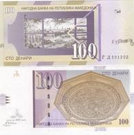 Macedonia - 100 Denari 2004 UNC Ukr-OP - Macedonia