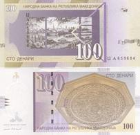 Macedonia - 100 Denari 2005 UNC Ukr-OP - Macedonia