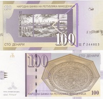 Macedonia - 100 Denari 2008 UNC Ukr-OP - Macedonia