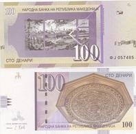 Macedonia - 100 Denari 2013 AUNC Ukr-OP - Macedonia