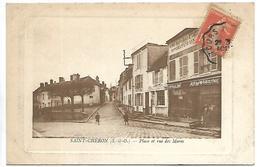 SAINT CHERON - Place Et Rue Des Mares - Saint Cheron