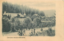 D1283 Hamruden Hameruden Hammeroden Homoroden Homrod Homorod Brasov - Roumanie