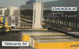 CARTE-PUCE-PRIVEE-PUBLIC- 50U-EN913-SC7-03/94-DANZAS-UTILISE-TBE - France
