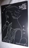 Carte Postale - La Voix Humaine (dessin De Jean Cocteau 1930) Orchestre Philharmonique De Strasbourg - Cocteau