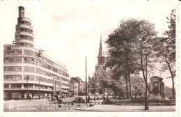 Bruxelles - CPA - Brussel - Place Ste Croix Et Le Bâtiment De L'I.N.R. - Marktpleinen, Pleinen
