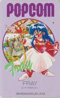 Télécarte Ancienne Japon / 110-011 - MANGA - SHOGAKUKAN - FRAY ** POPCOM ** ANIME Japan Phonecard - 10167 - Comics