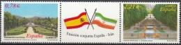 España 2005 Michel 4073 - 4074 Neuf ** Cote (2008) 6.00 Euro Jardins Emission Avec Iran - 1931-Aujourd'hui: II. République - ....Juan Carlos I