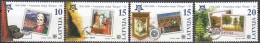 Latvija 2006 Michel 652 - 655 Neuf ** Cote (2013) 2.40 Euro 50 Ans Europa CEPT Timbres Sur Timbres - Lettonie