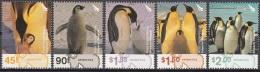 Ross Depency 2004 Michel 89 - 93 Neuf ** Cote (2005) 8.00 Euro Manchot Royal - Dépendance De Ross (Nouvelle Zélande)