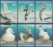 Ross Depency 1997 Michel 44 - 49 Neuf ** Cote (2005) 11.00 Euro Oiseaux De Mer - Neufs