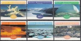 Ross Depency 1998 Michel 54 - 59 Neuf ** Cote (2005) 9.60 Euro Formations De Glace - Neufs