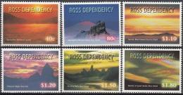 Ross Depency 1999 Michel 60 - 65 Neuf ** Cote (2005) 9.60 Euro Couchers De Soleil - Dépendance De Ross (Nouvelle Zélande)