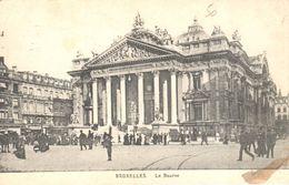 Bruxelles - CPA - Brussel - La Bourse - Monuments, édifices