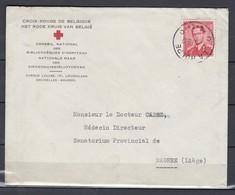 Brief Van La Hulpe Naar Magnee (Liege) - 1953-1972 Lunettes