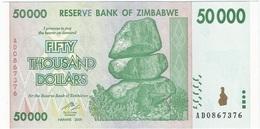 Zimbabwe 50.000 Dollars 2008 Pick 74.a UNC - Zimbabwe