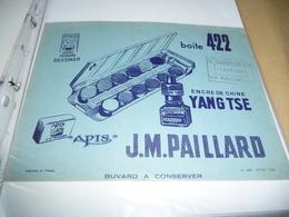 BUVARD Publicitaire  BLOTTING PAPER   - Boite 422 Paillard Yand Tse - Buvards, Protège-cahiers Illustrés