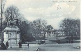 Bruxelles - CPA - Brussel - Le Parc Et Le Palais Royal - Bossen, Parken, Tuinen