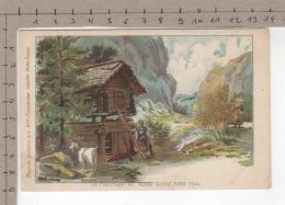 Le Pâturage Au Village Suisse, Paris 1900 ° Chèvre / Ziege / Goat / Capra - Animaux & Faune