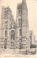 Bruxelles - CPA - Brussel - Eglise Sainte-Gudule - Monuments, édifices
