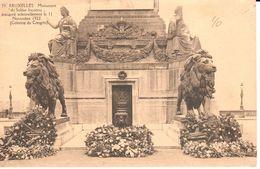 Bruxelles - CPA - Brussel - Monument Du Soldat Inconnu - Monuments, édifices