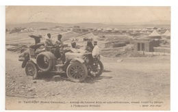 Cp Maroc Oriental - Arrivée Du Général ALIX En Auto-mitrailleuse - Personnages