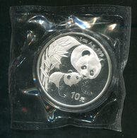 6872 - CHINA VR - 10 Yuan Panda 2004, 1 Unze Silber, OVP - Chine