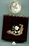 6873 - CHINA VR - 10 Yuan Panda 1993 (KM 485), 1 Unze Silber, In Dekorativer Box - China
