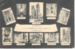 Bruxelles - CPA - Brussel - La Cathédrale Ste Gudule - Monuments, édifices