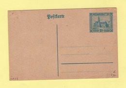 SAAR - Entier Postal - Carte Postale - CP23 - Entiers Postaux