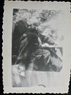 PHOTO WW2 WWII : TANKISTE Av CASQUE - COMMUNICATION        //1.17 - Guerra, Militari