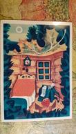 "OLD USSR Postcard  - ""Little Dwarf"" By BARAKHTYANSKY-   Champignon  - Mushroom - Amanita - 1978 - Champignons"