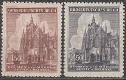 1/ Bohemia & Moravia; ** Nr. 120-121 - Unused Stamps