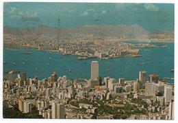 HONG KONG & KOWLOON FROM THE PEAK (PUBL. NATIONAL CO.N.829) - 1978 - Cina (Hong Kong)