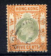 HONG KONG - 65° - EDOUARD VII - Oblitérés