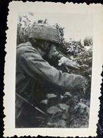 PHOTO WW2 WWII :  FALLSCHIRMJAGER Av MP-40               //1.17 - Krieg, Militär