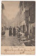 Cp - ROMANS - Rue BISTOUR - Romans Sur Isere