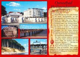 73217850 Heiligendamm_Ostseebad Strand Kurzentrum Schiffanlegestelle Chronik Hei - Heiligendamm