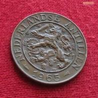 Netherlands Antilles 2 1/2 Cents 1965 KM# 5  Antillen Antilhas Antille Antillas - Antilles Neérlandaises