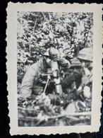 PHOTO WW2 WWII :  FALLSCHIRMJAGER Av Granatwerfer 34                     //1.17 - Krieg, Militär