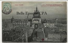 75 - TOUT PARIS 18 - #775 - Panorama De Montmartre - Vue Prise Du Sacré-Coeur / DUFAYEL ++++ Coll. F. FLEURY ++++ 1907 - Arrondissement: 18